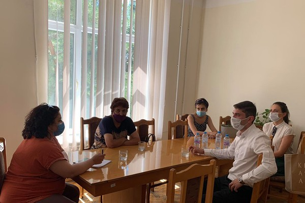 Meeting with local self-government system authorities in Vayots Dzor region